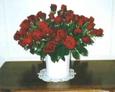 Für mich soll es rote Rosen regnen ...
